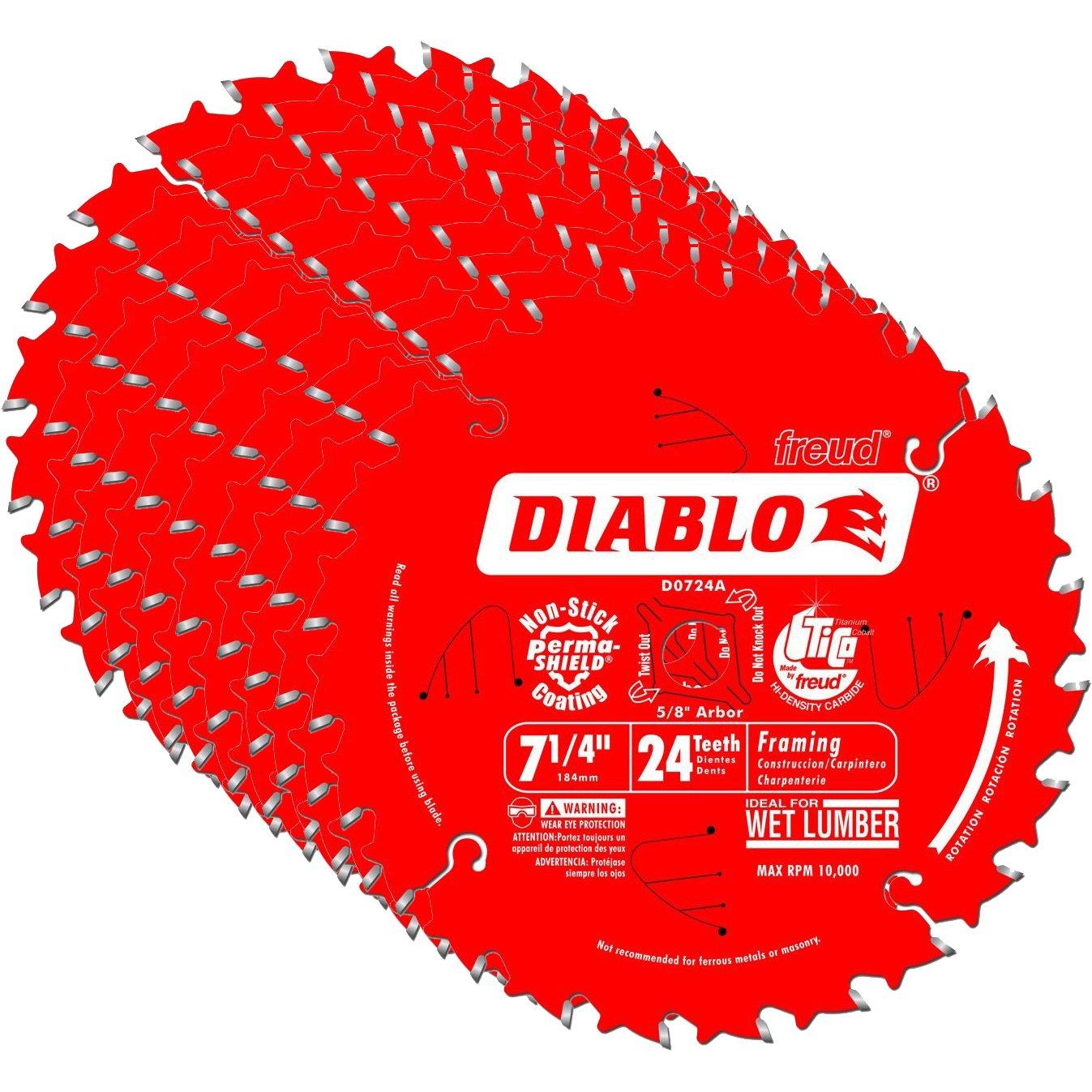 Diablo D0724A Circular Framing Blade