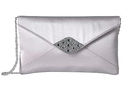 Adrianna Papell Kadin (Silver) Clutch Handbags