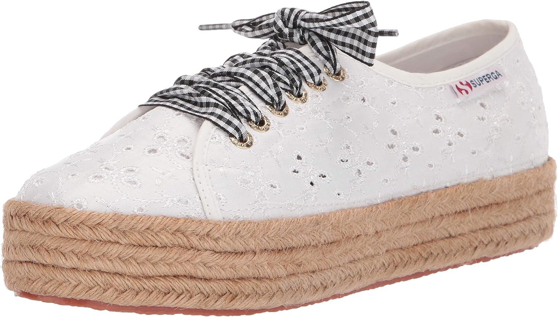 Superga Womens 2730 Sangallosatinropelacesw Sneaker