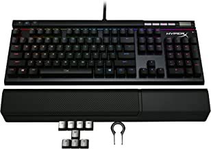 Teclado Gamer HyperX Alloy Elite RGB Mecânico Cherry MX Red US - HX-KB2RD2-US/R2