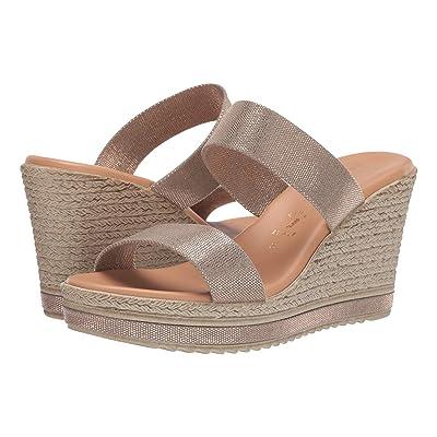 Italian Shoemakers Olyvia (Metallic Taupe) Women