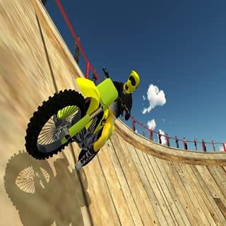 Stunt Bike Racing Game Tricks Master: Death Well