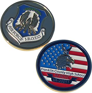 US Air Force AFJROTC Franklin County High School Challenge Coin