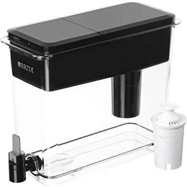 Brita Ultra Max Filtering Dispenser, Extra Large 18 Cup, Black