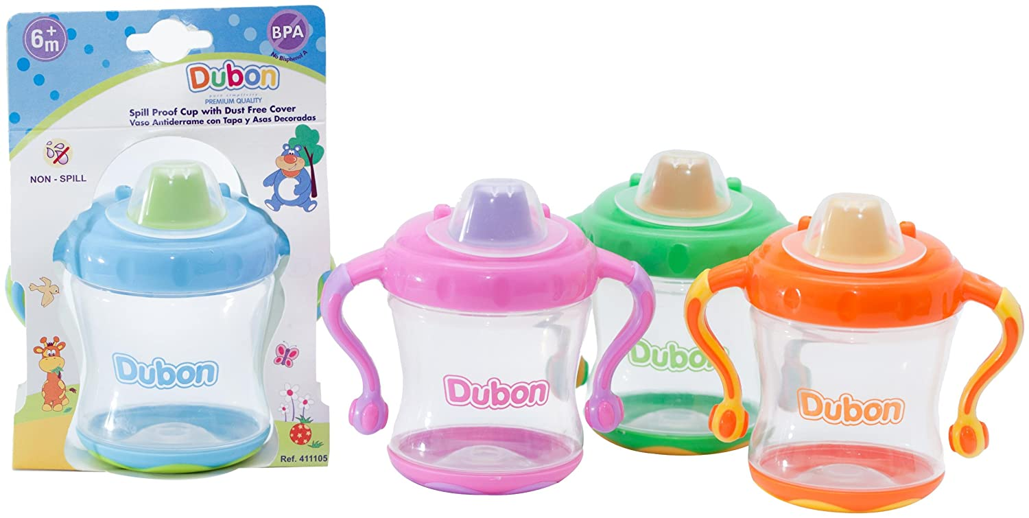 Bebe Dubon 8 Ounce Spill Proof Colors Cover with May Store Spout Cup Soldering