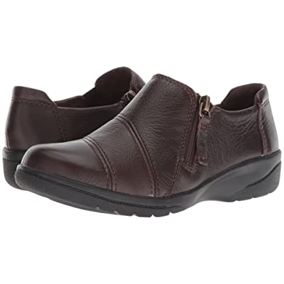 Clarks Cheyn Clay (Brown Leather) Women