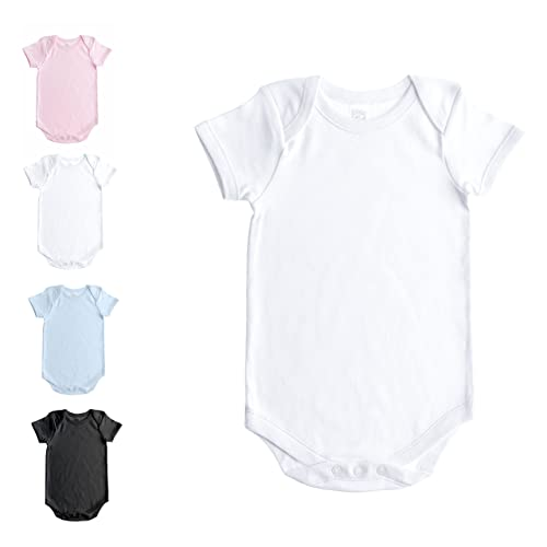 1a6395d0b Baby Jay Short Sleeve Onesie For Babies and Toddlers - Premium Soft Cotton  Bodysuit For Boys
