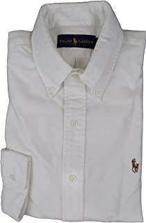 Polo Ralph Lauren Men's Classic Oxford Shirt Medium White