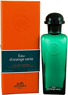 Hermes Eau d'Orange Verte Eau de Cologne Spray Unisex, 100 ml