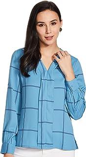 Amazon Brand - Symbol Women's Polka Regular fit Top