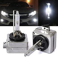 CK Formula (2 Pcs) D1S D1R D1C 6000K Ultra White HID Headlight Bulbs (Low Beam) 66147 66144 66049 66410 66146 USA Seller