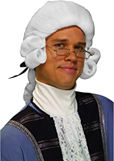 Forum Novelties Men's Colonial George Washington Historical Costume Wig