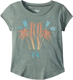 Tribal Palm Fashion Crew Top (Toddler/Little Kids/Big Kids)