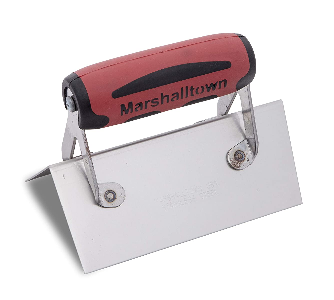MARSHALLTOWN The Premier Line 67SSD 6-Inch by 2-1/2-Inch Outside Corner Trowel with DuraSoft Handle