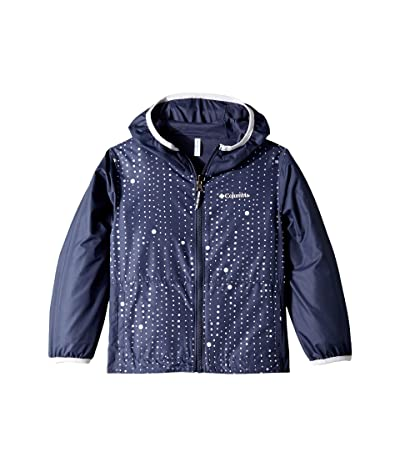 Columbia Kids Pixel Grabbertm Reversible Jacket (Little Kids/Big Kids) (Nocturnal Dots/Nocturnal/White) Girl