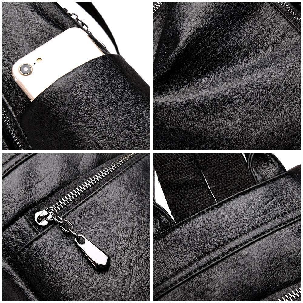 JMXAFMY Fashion Backpack Designers Large Backpack Shoulder Bag Women Backpack (Color : Black, Size : A)