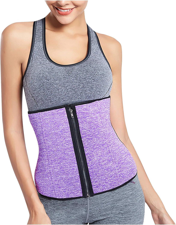 Women's Waist Trainer Trimmer Slimmer Belt Corset Cincher Body Shaper Plus Size Boned Corsets Shapewear