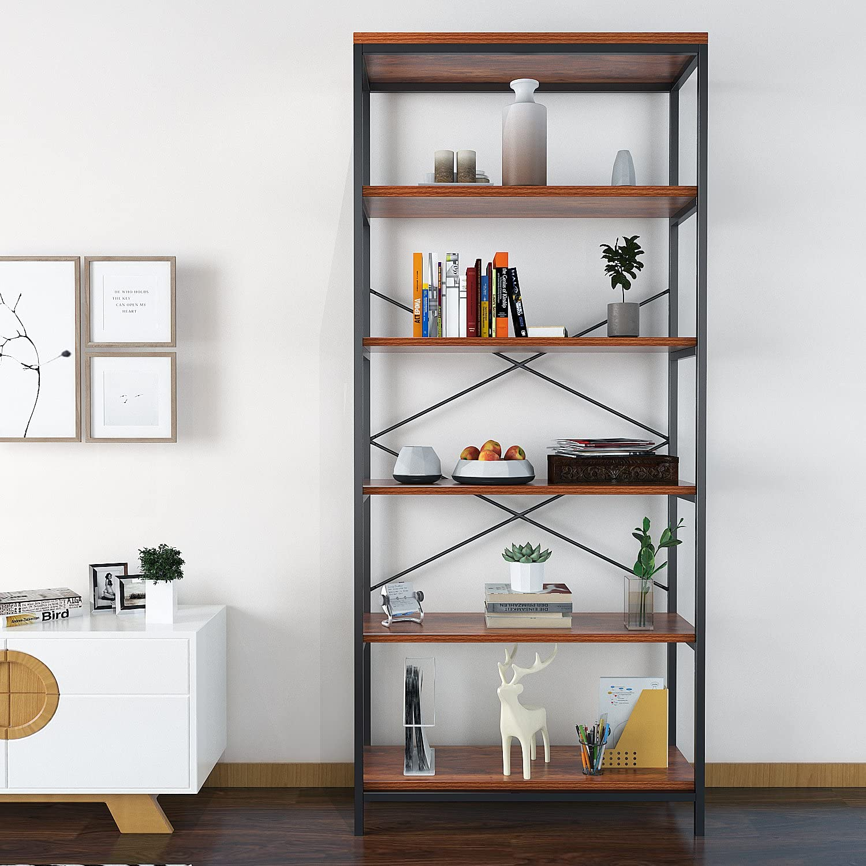Nakey Bookcase Industrial Metal and Wood R 当店一番人気 発売モデル Display Bookshelves