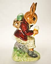 Billie Bunnykins 1972 - Royal Doulton & Co Limited Cooling Off Figurine - DB3-4 Inches Tall - Made in England - Very Rare - Mint - Collectible
