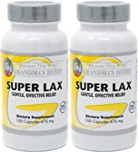 Grandma's Herbs Super LAX Most Effective Mild Herbal Laxative, Natural Ingredients (2)