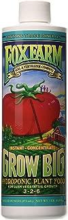 Fox Farm FX14094 Grow Big Hydro Liquid Concentrate, 1 Pint Fertilizer