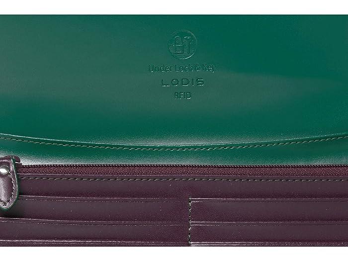 Audrey Lodis Accessories Bajo Cerradura Y Llave Rfid Luna Monedero Embrague - Bags Handbags