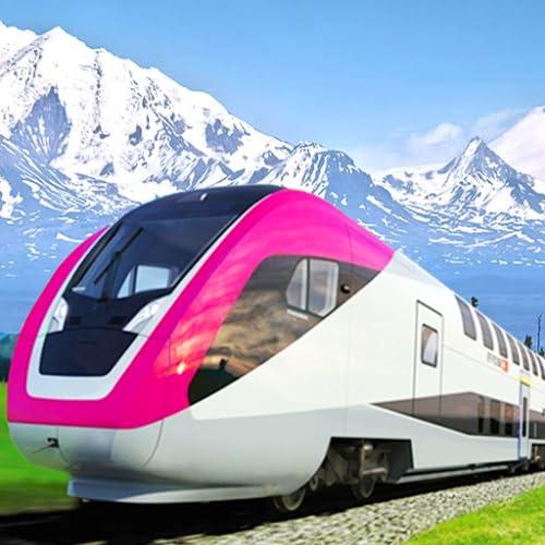 Super Euro Metro Uphill Train Driving Simulator 3D