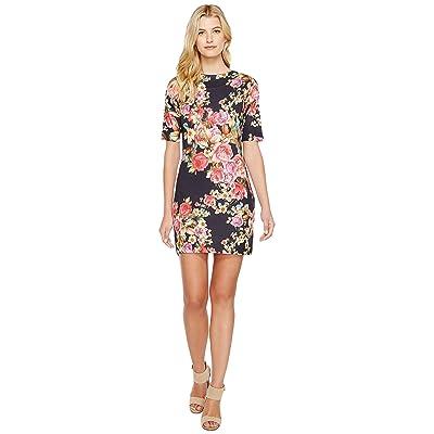 Nally & Millie Rose Print Dress (Multi) Women