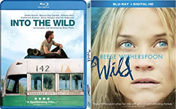 Wilderness Double Feature Into the Wild & Wild Reese Witherspoon Blu Ray Drama Movie Set Bundle