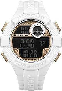 Superdry Sport Watch for Men, Rubber, T SDWSYG193WRG