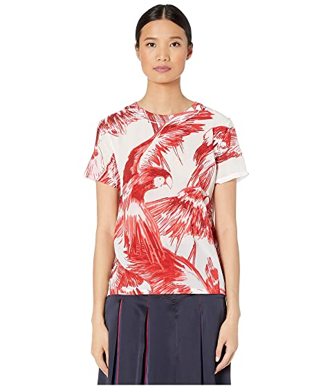 Sportmax Cadine Cotton Printed T-Shirt
