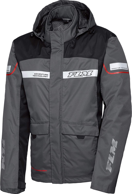 Flm Regenjacke Regenschutz Fahrrad Regenbekleidung Reise Membran Regenjacke Modular 1 0 Herren Enduro Reiseenduro Sommer Textil Bekleidung