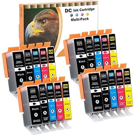 D C 20x Druckerpatronen Kompatibel Für Canon Pgi 550 Xl Cli 551 Xl Für Canon Pixma Mg7100 Mg7150 Mg7550 Mx925 Ip7200 Ip7250 Mg5400 Series Mg5450 Mg5550 Mg5650 Mg5655 Mx725 Mx920 Ip8750 Ix6850 Mg6350 Bürobedarf