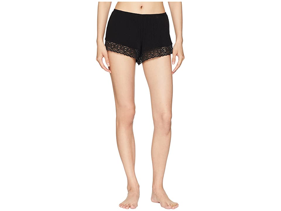 Eberjey Kaia The Classic Shorts (Black) Women
