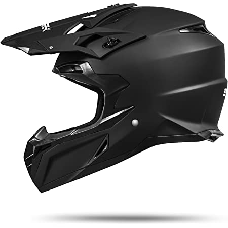 Ato Moto Mx Mexico Schwarz Matt Größe M 57 58cm Enduro Helm Mit Neuster Sicherheitsnorm Ece 2205 Auto