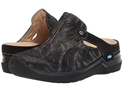 Wolky Holland (Black Antique Palm Suede) Women