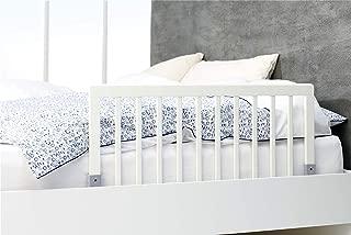 BABY DAN Barrière de sécurité pour lit en bois - 45 x 90 cm - blanc