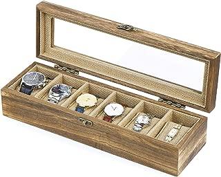wood box glass top