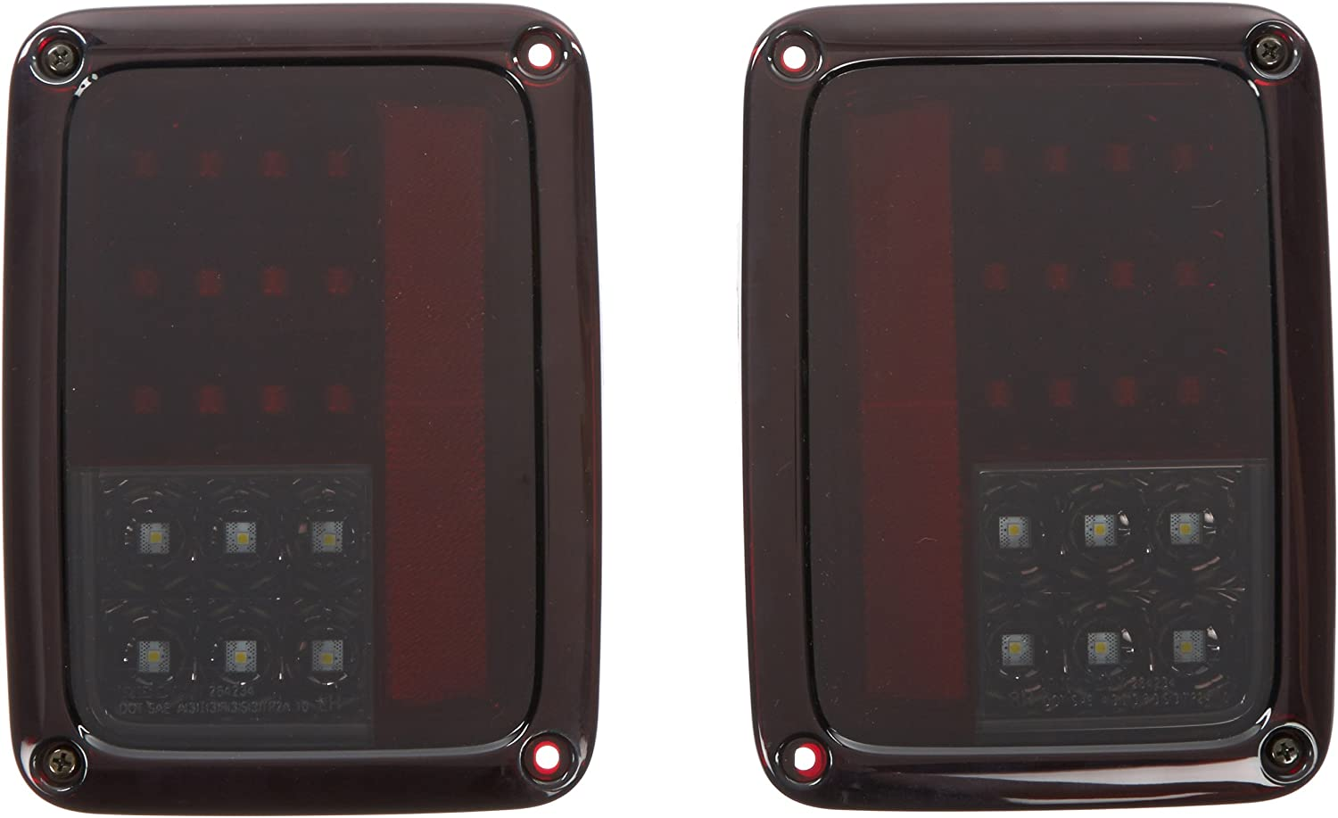 Recon 264234RBK Taillight LED Ranking Portland Mall TOP16
