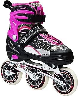 Epic Skates Spear Adjustable Inline Roller Skates, Youth 1-4