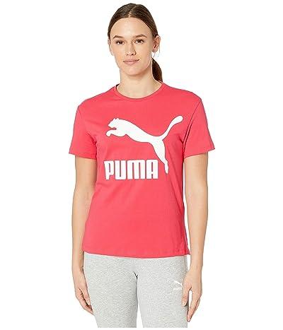 PUMA Classics Logo Tee (Nrgy Rose) Women
