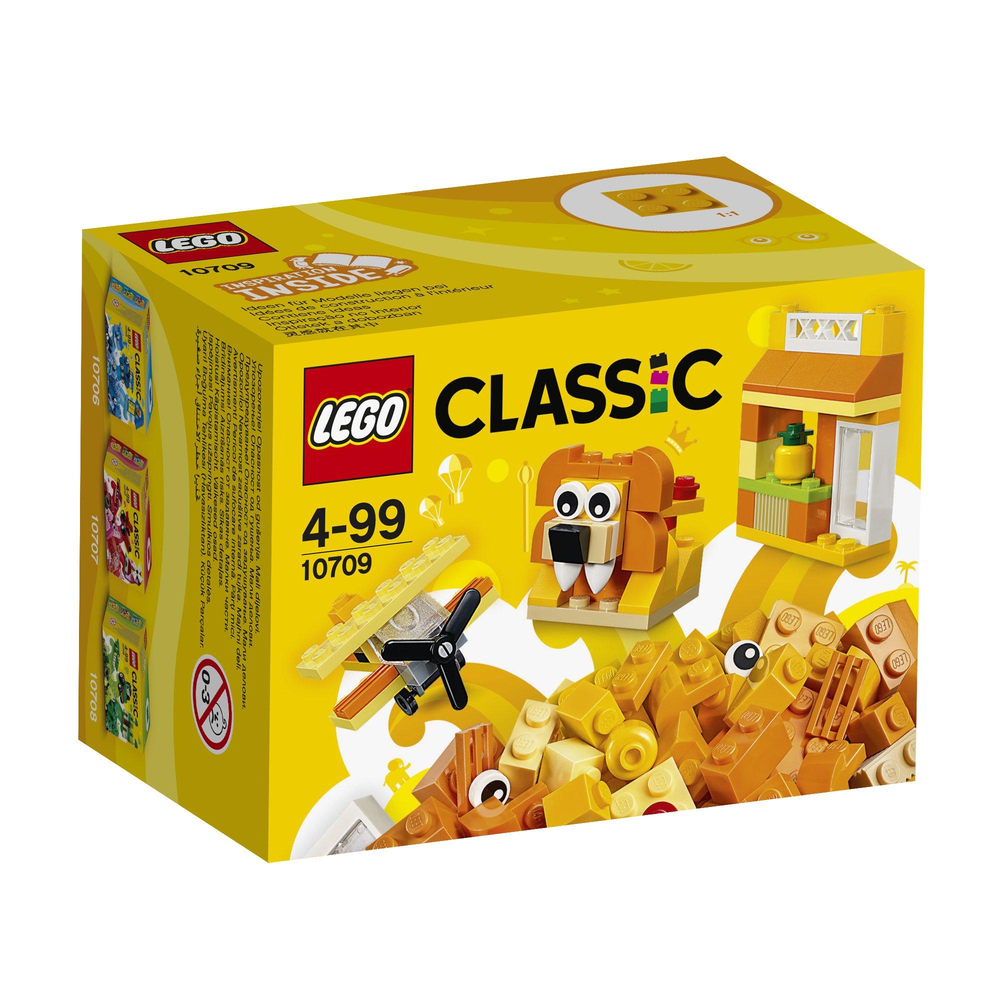 LEGO Classic - Caja creativa de color naranja (10709): Amazon.es: Juguetes y juegos