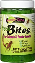 Nature Zone SNZ54511 Feeder Insects Total Bites Soft Moist Food with Spirulina, 9-Ounce