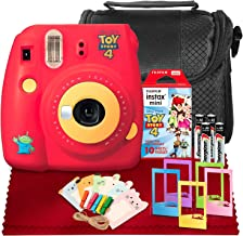 FUJIFILM INSTAX Mini 9 Instant Film Camera (Toy Story 4) W/FUJIFILM INSTAX Instant Film, Case, Frames, and Basic Accessory Bundle
