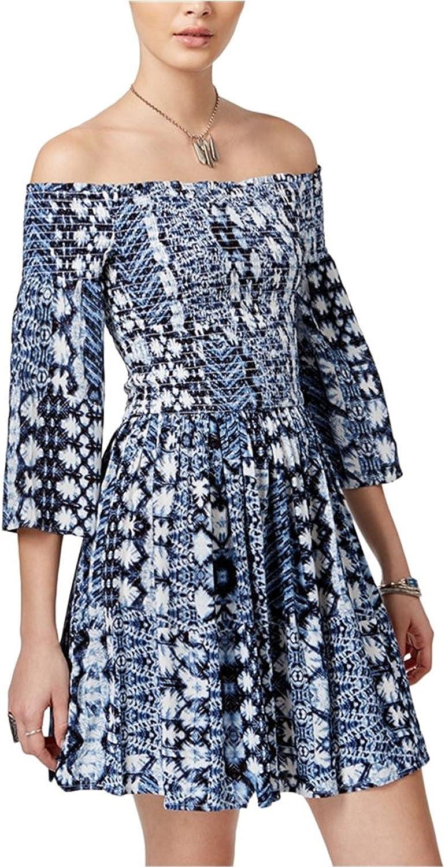 American Rag Womens OffTheShoulder ALine Dress