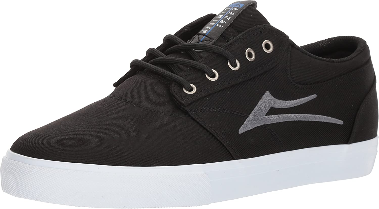 Lakai Griffin Black Reflective Suede