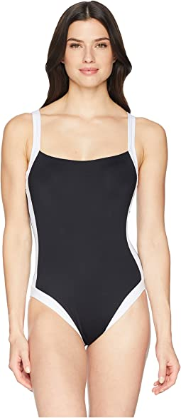 Modern Muse Cross-Back One-Piece