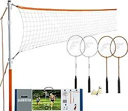 Franklin Sports Badminton – Starter, Family, Professional Sets