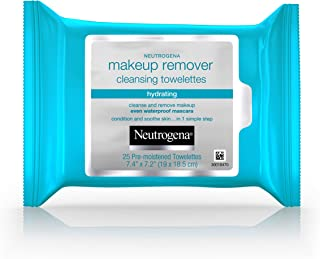 Neutrogena Hydrating Makeup Remover Cleansing Towelettes 25 ea (Pack of 3)