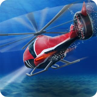 Floating Underwater Helicopter
